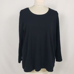 Avenue Your tee Shirt Plus Size 26/28 Long Sleeves